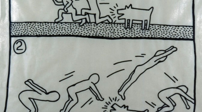 Comic-haftes bei Keith Haring