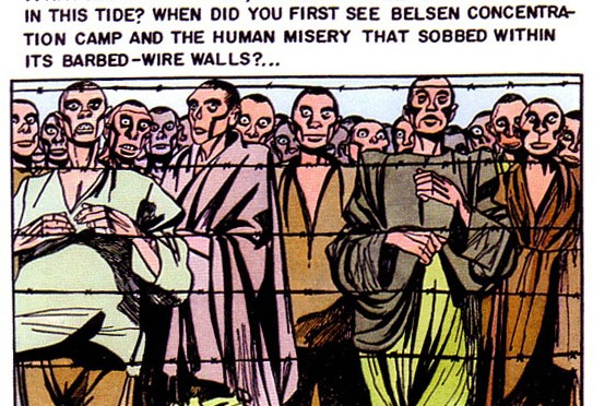 NS-Konzentrationslager im Horrorcomic der 1950er Jahre